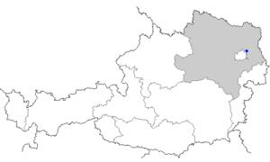 Aderklaa - Image: Map at aderklaa