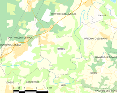 Map commune FR insee code 40315.png