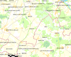 Map commune FR insee code 49131.png