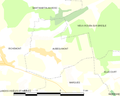 Map commune FR insee code 76028.png