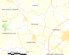 Map commune FR insee code 85030.png