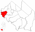 Map of Cumberland County highlighting Greenwich Township.png