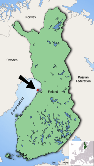 Map of Finland highlighting Hailuoto.png