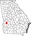 Map of Georgia highlighting Webster County.svg