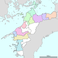 Map of cities of Ehime prefecture.png