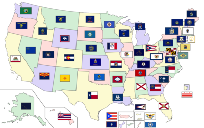 Flags of the U.S. states and territories - Wikipedia