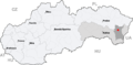 Map slovakia michalovce.png