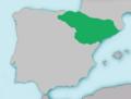 Mapa Barbus graellsii.png