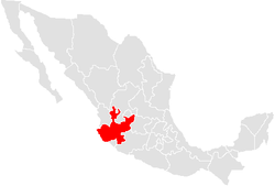 Situs Xalisci in Mexico
