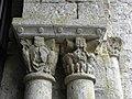 Marcilhac-sur-Celé (46) Abbaye Salle capitulaire Chapiteau 08.JPG