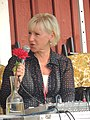 Margot Wallström at the Swedish Social Democratic Youth League's general election camp 2014 (14845087562).jpg
