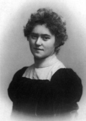 Maria Caspar-Filser - Maria Filser, photograph circa 1900