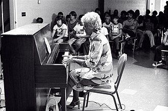 Marian McPartland - McPartland playing at St. Joseph's Villa near Rochester, New York in 1975