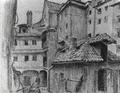 Marian Ruzamski - Zaułek w Pradze Czeskiej.png