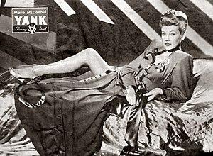 Marie McDonald - Marie McDonald (September 8, 1944 issue of Yank magazine)