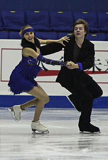Marina ANTIPOVA Artem KUDASHEV Grand Prix Final 2008-Juniors Dance.jpg