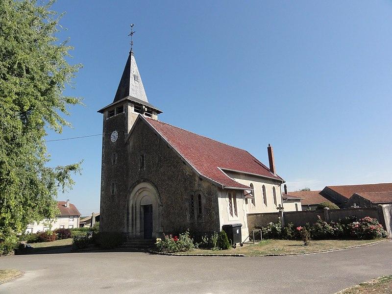 Marre (Meuse) église