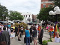 Marriage Equality Celebration, Lowndes County Courthouse 06.JPG