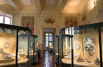 Musée de la Faïence de Marseille - Interior of the museum