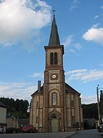 Martelange: St Martin\'s church