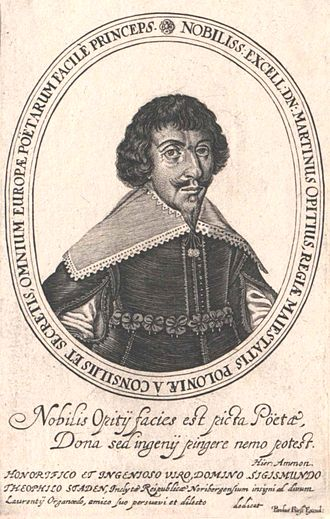 Martin Opitz - Image: Martin Opitz Fürst excud