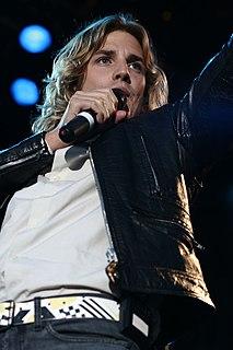 Martin Rolinski Swedish singer