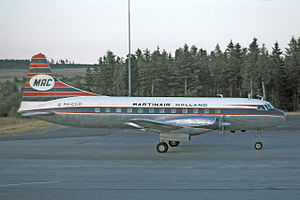 Martinair - Martinair Convair 640 in 1967