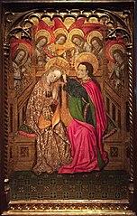 Coronació de la Mare de Déu amb àngels músics