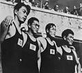 Masanori Yusa, Shigeo Sugiura, Masaharu Taguchi and Shigeo Arai 1936.jpg