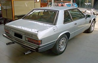 Maserati Kyalami - Rear view.