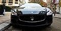 Maserati Quattroporte, Avenue Montaigne, Paris 2014.jpg