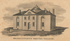 Massachusetts Medical College in Mason St. (Altbau)