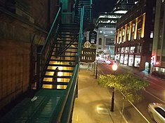 Massey Hall fire escape.jpg