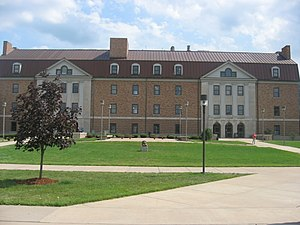 Shawnee State University - Massie Hall is the first and oldest building at Shawnee State University