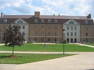 Shawnee State University - Massie Hall is the first and oldest building at Shawnee State University