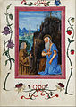 Master of the Ore Landriani and Giovan Battista de Lorenz - Gian Giacomo Trivulzio with Saint Hieronymus in the Book of hours of Gian Giacomo Trivulzio - Google Art Project.jpg