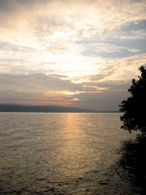 Lake Matano - Lake Matano at sunset