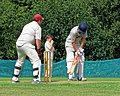 Matching Green CC v. Bishop's Stortford CC at Matching Green, Essex, England 30.jpg
