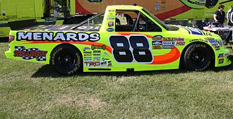 NASCAR Gander Outdoors Truck Series - The Camping World Truck Series vehicle of two-time series champion Matt Crafton