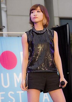 May'n - May'n performing at the J-POP Summit Festival 2014 in San Francisco, California