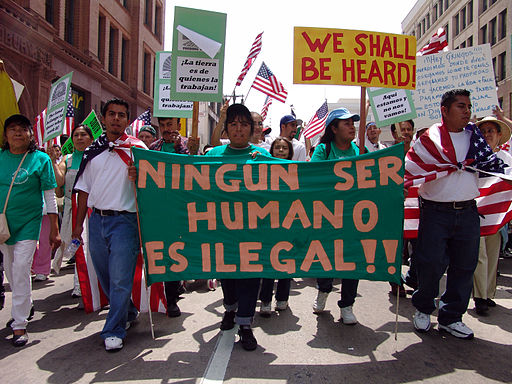 May Day Immigration March LA04