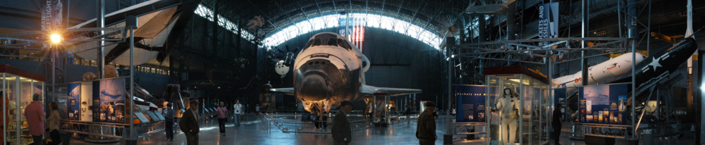 180° View of the James S. McDonnell Space Hangar