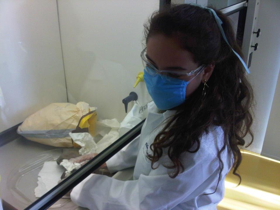 Medical student at the laboratories of ITESM CCM