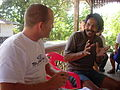 Medical treatment on Hinako Island after 2004 tsunami. Indonesia 2005. Photo- AusAID (10697841276).jpg