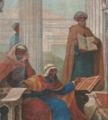 Medicina Árabe I (c. 1906) - Veloso Salgado (Sala dos Actos, FCM-UNL).png