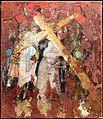 Medio reno o westfalia, altare del medio reno, 1410 ca., verso 03 andata al calvario.jpg