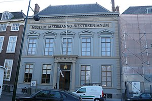 Museum Meermanno -  Meermanno Museum on the Prinsessegracht 30 in The Hague.