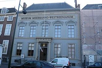 Museum Meermanno - Meermanno Museum on the Prinsessegracht 30 in The Hague.