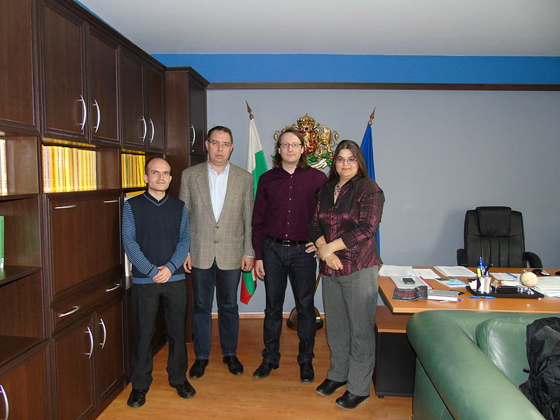 File:Meeting with Mihail Gruev, director of the Bulgarian Archives State Agency.JPG