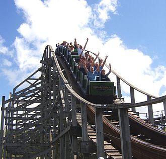 Megafobia - Image: Megafobia Oakwood Theme Park